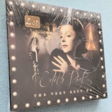 CDs de Música: EDITH PIAF.THE VERY BEST OF. 2 CD PRECINTADO. Lote 199991746