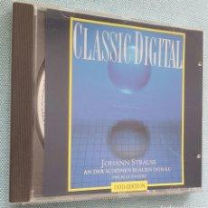 CDs de Música: THE BLUE DANUBE. EL DANUBIO AZUL.J.STRAUSS. CD. Lote 200008092
