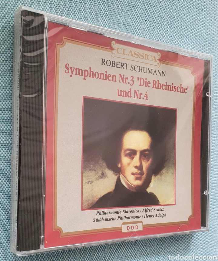 R.SCHUMANN. SYMPHONIEN NR.3 DIE RHEINISCHE UND NR.4. PRECINTADO (Música - CD's Clásica, Ópera, Zarzuela y Marchas)