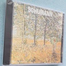 CDs de Música: SCHUMANN. ROMANTIC LEGENDS. CONCIERTO PIANO A MENOR OP.54.SINFONIA N°3 PRECINTADO. Lote 200018678