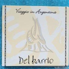 CDs de Música: RARO.DEL BARRIO. VIAGGIO IN ARGENTINA.CD. Lote 200038985