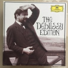 CDs de Música: CLAUDE DEBUSSY - THE DEBUSSY EDITION - CAJA CON 18 CDS - DEUTSCHE GRAMMOPHON - DECCA . Lote 200061016