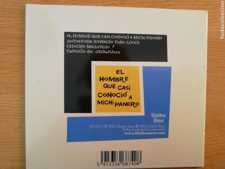 CDs de Música: Nacho Vegas. El hombre que casi conoció a Michi Panero. Limbo Starr, Spain 2005. - Foto 2 - 200103657
