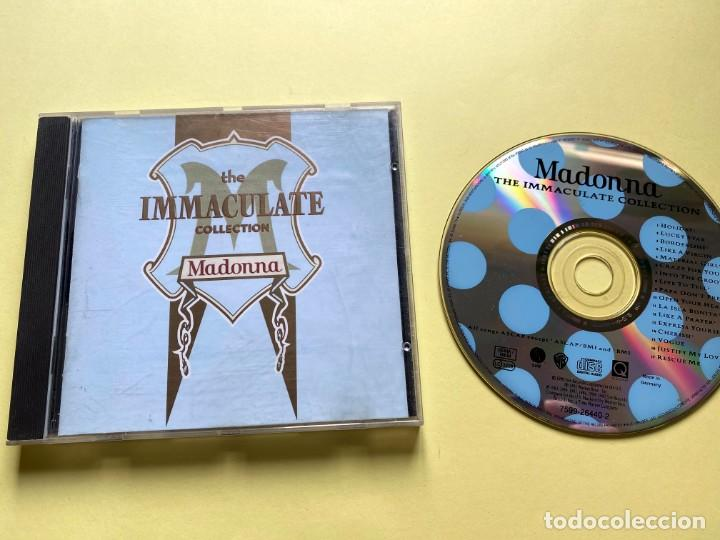 MADONNA - THE IMMACULATE COLLECTION (Música - CD's Pop)