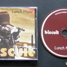 CDs de Música: BISCUIT – LUNCH MUSIC – GRABACIONES EN EL MAR – CD (1996). Lote 200139472