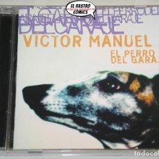 CDs de Música: VÍCTOR MANUEL, EL PERRO DEL GARAJE, CD ARIOLA, 2004. Lote 200160020