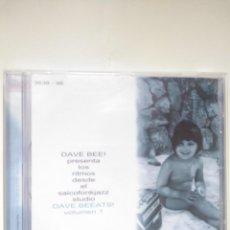 CDs de Música: CD DAVE BEE - DAVE BEEATS VOL1 - 1999 HIP HOP. Lote 200264026
