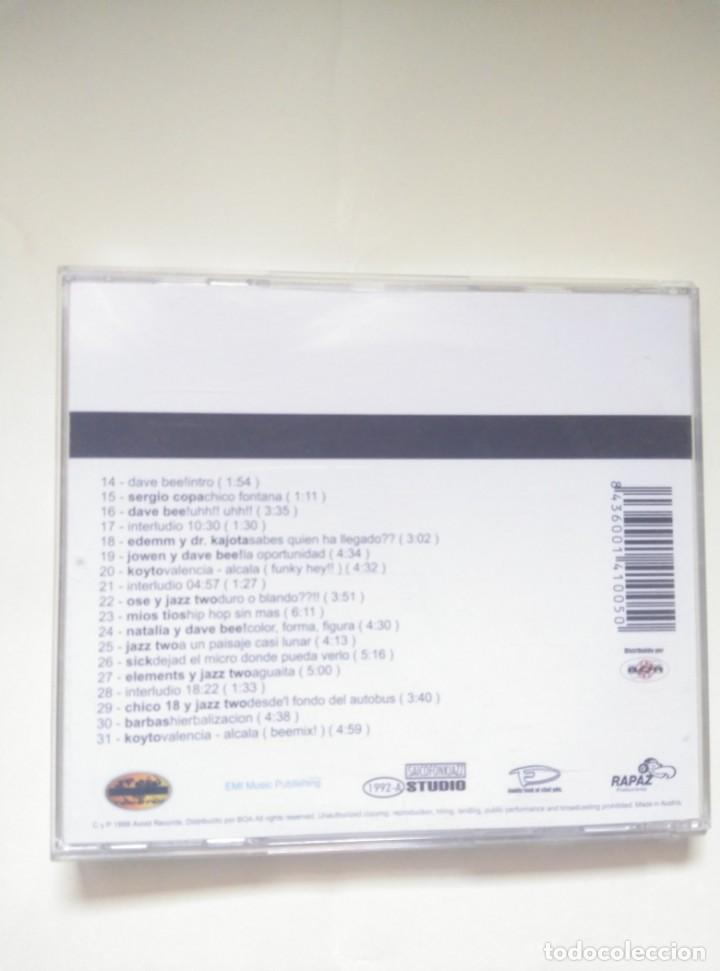 CDs de Música: CD DAVE BEE - DAVE BEEATS VOL1 - 1999 HIP HOP - Foto 2 - 200264026