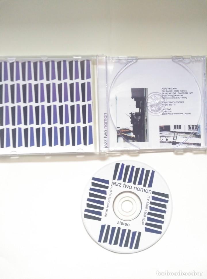 CDs de Música: CD JAZZ TWO - NOMON - 1998 HIP HOP - Foto 3 - 200264461