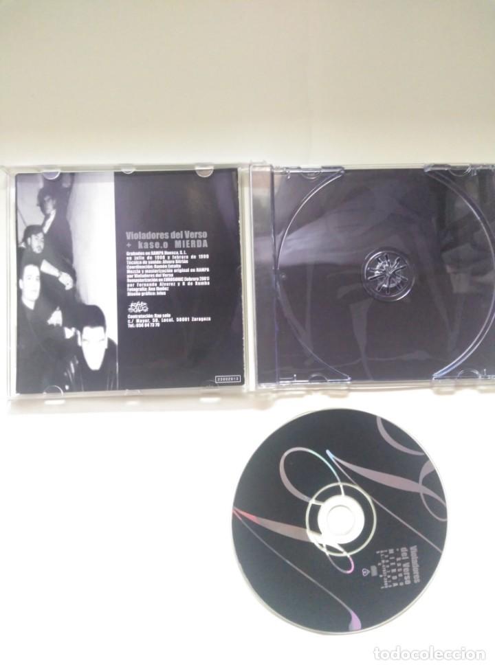CDs de Música: CD VIOLADORES DEL VERSO + KASE O, MIERDA - Foto 2 - 200264812