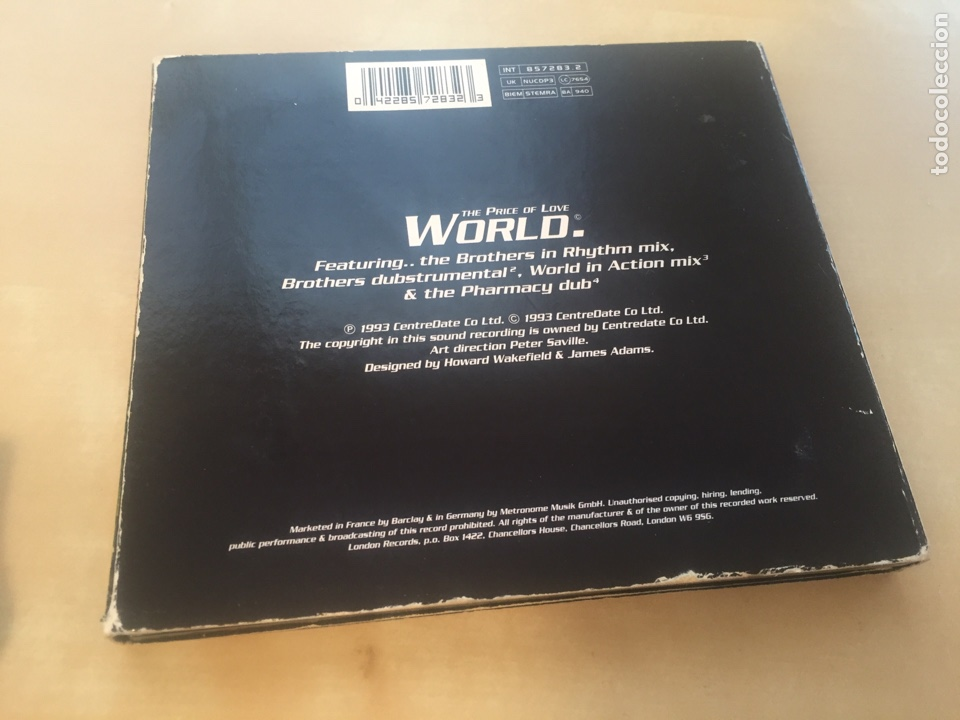 CDs de Música: New Order - The Price Of Love World - CD Single - Foto 2 - 200324866