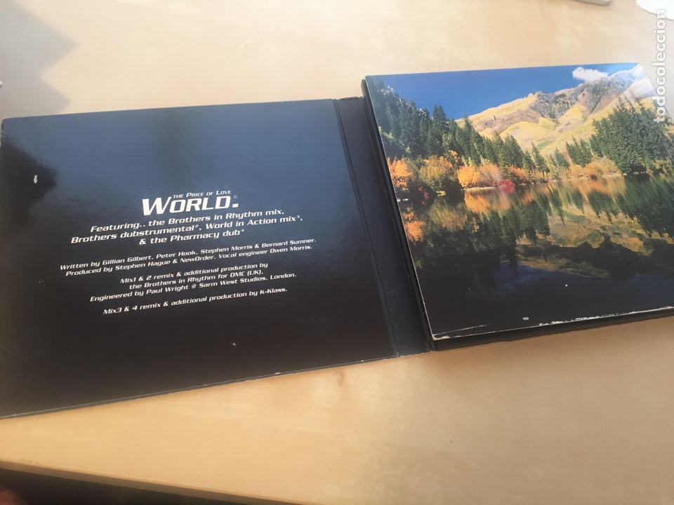 CDs de Música: New Order - The Price Of Love World - CD Single - Foto 3 - 200324866