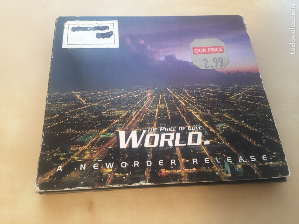 NEW ORDER - THE PRICE OF LOVE WORLD - CD SINGLE (Música - CD's Techno)