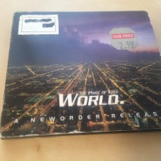 CDs de Música: NEW ORDER - THE PRICE OF LOVE WORLD - CD SINGLE. Lote 200324866