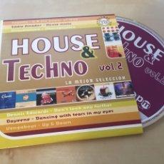 CDs de Música: HOUSE & TECHNO VOL. 2 - CD PROMO RADIO SINGLE. Lote 200332362