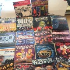 CDs de Musique: LOTE 20 CD PROMO MAKINA HARDCORE - PONT AERI SCORPIA NON ROCKOLA SKUDERO METRALLA CATEDRALES TECHNO. Lote 200335248