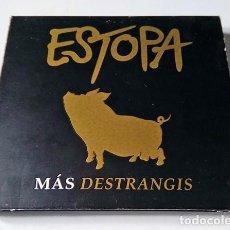 CDs de Música: ESTOPA - MAS DESTRANGIS CD+ DVD GIRA 2002 - BMG . Lote 200391261