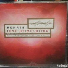 CDs de Música: HUMATE – LOVE STIMULATION REMIXES CD MAXI 5 TRACK 1998 SCANDINAVIA PEPETO. Lote 200518790