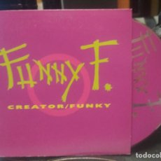 CDs de Música: FUNNY F. CREATOR / FUNKY CD SINGLE 2 TRACK 1998 AUSTRIA PEPETO. Lote 200520920