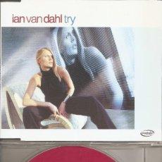 CDs de Musique: IAN VAN DAHL - TRY (FIVE VERSIONS) (CDSINGLE CAJA PROMO, CYBER MUSIC 2002). Lote 200534780
