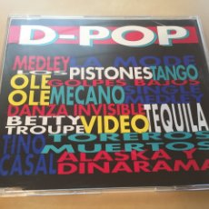 CDs de Música: D-POP - CD PROMO RADIO SINGLE - MECANO TINO CASAL ALASKA OLE OLE. Lote 200535397