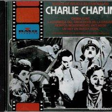 CDs de Musique: MUSICA DE PELICULAS FAMOSAS DE CHARLIE CHAPLIN - CD DE 1993 RF-5505 ,BUEN ESTADO. Lote 200551425