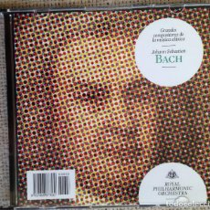 CDs de Música: CD GRANDES COMPOSITORES DE LA MÚSICA CLÁSICA - BACH - ROYAL PHILARMONIC ORCHESTRA. Lote 200555966
