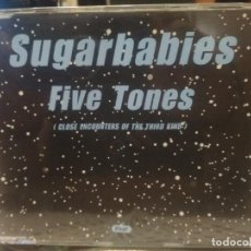 CDs de Música: SUGARBABIES FIVE TONES CD MAXI 3 TRACK 1998 PEPETO. Lote 200589942