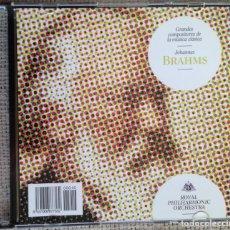 CDs de Música: CD GRANDES COMPOSITORES DE LA MÚSICA CLÁSICA - BRAHMS - ROYAL PHILARMONIC ORCHESTRA. Lote 200599111