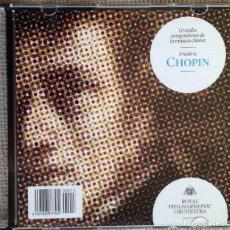 CDs de Música: CD GRANDES COMPOSITORES DE LA MÚSICA CLÁSICA - CHOPIN - ROYAL PHILARMONIC ORCHESTRA. Lote 200600587