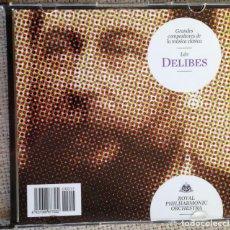 CDs de Música: CD GRANDES COMPOSITORES DE LA MÚSICA CLÁSICA - DELIBES - ROYAL PHILARMONIC ORCHESTRA. Lote 200600653