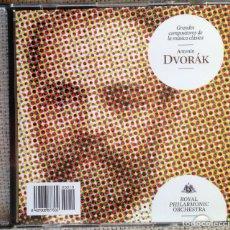 CDs de Música: CD GRANDES COMPOSITORES DE LA MÚSICA CLÁSICA - DVORAK - ROYAL PHILARMONIC ORCHESTRA. Lote 200600701