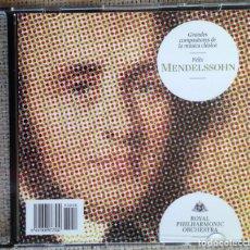 CDs de Música: CD GRANDES COMPOSITORES DE LA MÚSICA CLÁSICA - MENDELSSOHN - ROYAL PHILARMONIC ORCHESTRA. Lote 200600801