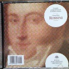 CDs de Música: CD GRANDES COMPOSITORES DE LA MÚSICA CLÁSICA - ROSSINI - ROYAL PHILARMONIC ORCHESTRA. Lote 200600992