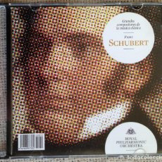 CDs de Música: CD GRANDES COMPOSITORES DE LA MÚSICA CLÁSICA - SCHUBERT - ROYAL PHILARMONIC ORCHESTRA. Lote 200601077