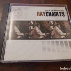 CD di Musica: SOLO LO MEJOR DE RAY CHARLES. 2.002, CAJA ROTA. Lote 200633357