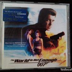 CDs de Música: B.S.O. ORIGINAL. 007 JAMES BOND. THE WORLD IS NOT ENOUGH. DAVID ARNOLD. NUEVA.. Lote 200713880
