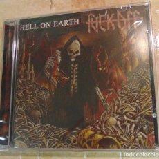 CD de Música: FUCK OFF – HELL ON EARTH - CD DARK RAILS 2006 - A ESTRENAR. Lote 257924040