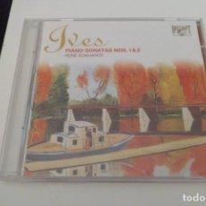 CDs de Música: IVES. PIANO SONATAS NS. 1 & 2. RENE ECKARDT. BRILLIANT.. Lote 200742077