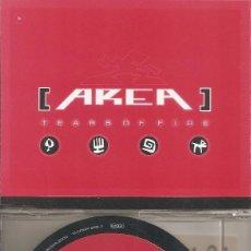 CDs de Musique: AREA - TEARS OF FIRE (FIVE VERSIONS) (CDSINGLE CAJA, UFO RECORDS 2000). Lote 200744837