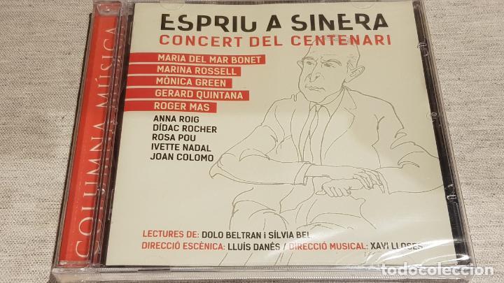 ESPRIU A SINERA / CONCERT DEL CENTENARI / VARIOS ARTISTAS / CD AGOTADO EN TIENDAS. / PRECINTADO. (Música - CD's Otros Estilos)