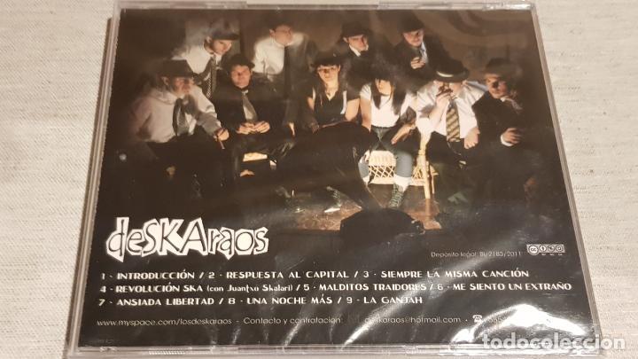 CDs de Música: DESKARAOS. GANA LA BANCA. CD-AUTOEDITADO - 2011 - 9 TEMAS / PRECINTADO. - Foto 2 - 200754550