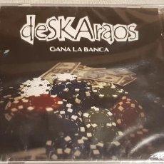 CDs de Música: DESKARAOS. GANA LA BANCA. CD-AUTOEDITADO - 2011 - 9 TEMAS / PRECINTADO.. Lote 200754550