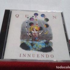 CDs de Música: CD QUEEN - INNUENDO. PARLOPHONE - FREDDIE MERCURY. PARLOPHONE 1991 EMI UK NUEVO PRECINTADO. Lote 200767546