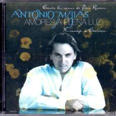 CDs de Música: ANTONIO MEJIAS - AMORES A PLENA LUZ. Lote 222596697