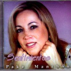 CDs de Música: PAKA MANCHÓN - SENTIMIENTOS. Lote 225494253