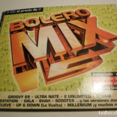 CDs de Música: 3 CD'S BOLERO MIX 15. 45 TEMAS. BLANCO Y NEGRO MUSIC 1998 SPAIN ESTUCHE CARTÓN (ESTADO NORMAL). Lote 200813992
