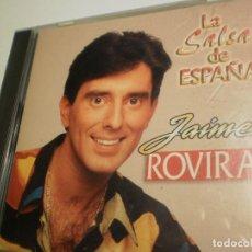 CDs de Música: CD JAIME ROVIRA. LA SALSA DE ESPAÑA. 8 TEMAS CAPITOL RECORDS 1994 USA (ESTADO NORMAL). Lote 200837400
