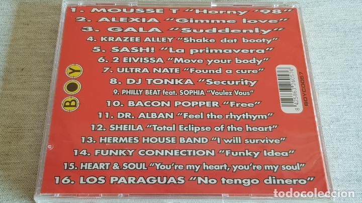 CDs de Música: BUEN ROLLO / LOS Nº 1 DE LA MÚSICA DANCE / CD - BOY / 16 TEMAS / PRECINTADO - Foto 2 - 200841491