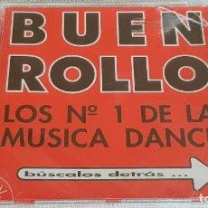 CDs de Música: BUEN ROLLO / LOS Nº 1 DE LA MÚSICA DANCE / CD - BOY / 16 TEMAS / PRECINTADO. Lote 200841491
